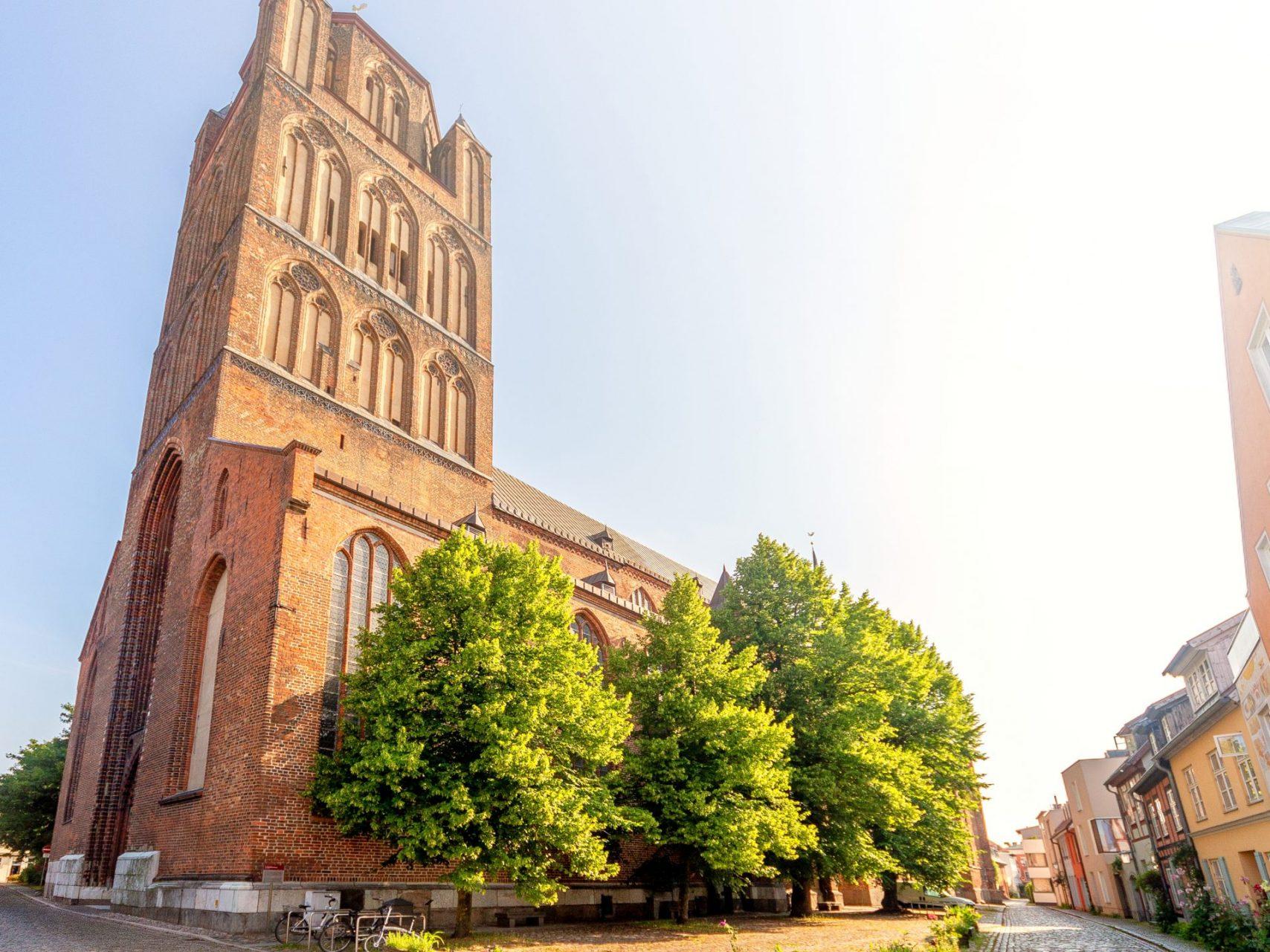 Kirche St. Jacobi Stralsund