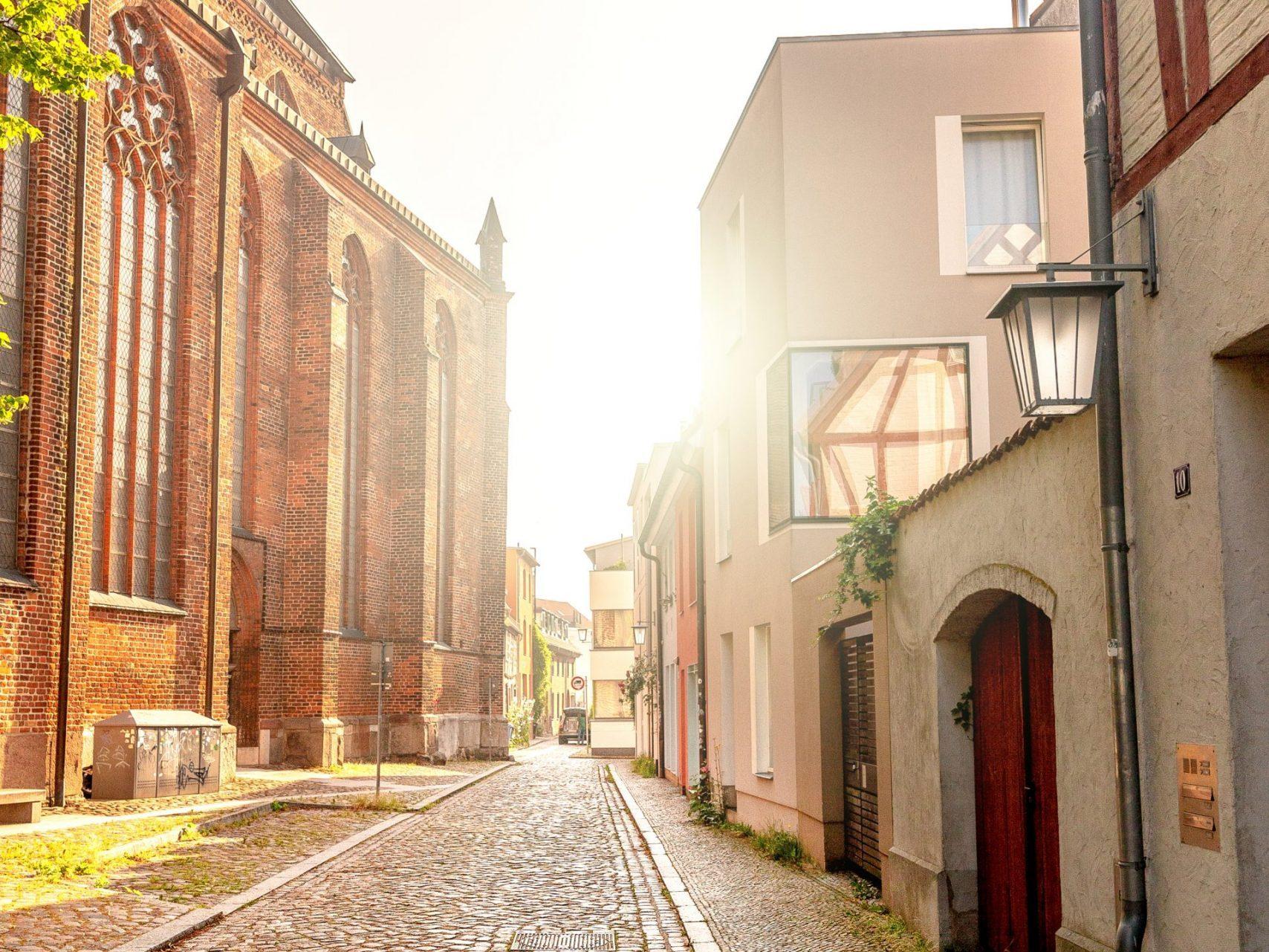 Gasse St. Jacobi Stralsund